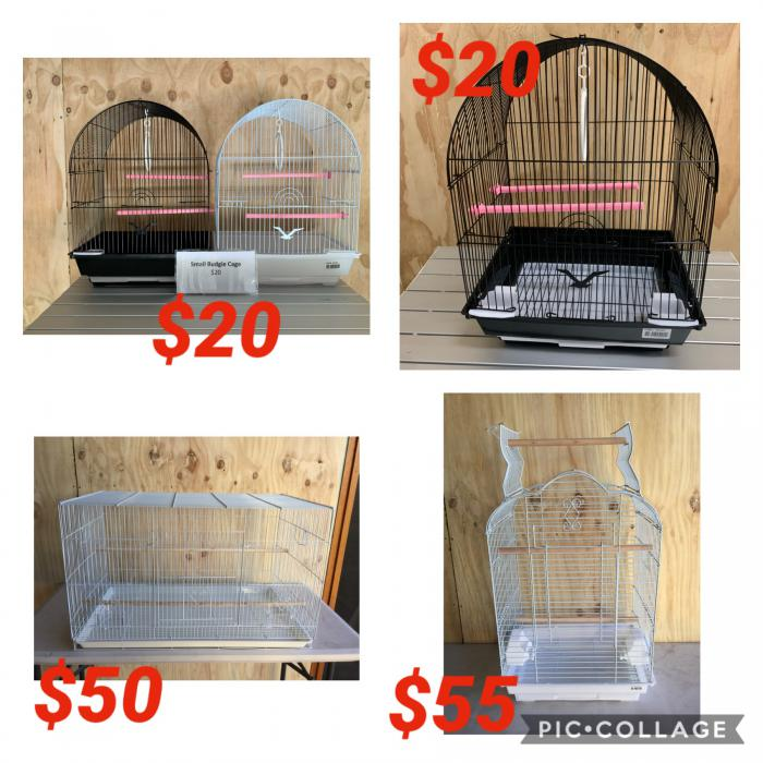 Bird Cages all Brand New